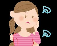 くすみに悩む女性イメージ